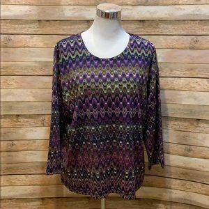 Koret purple top